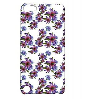 Pickpattern Back Cover For Apple iTouch 5 NIGHTFLOWERIT5