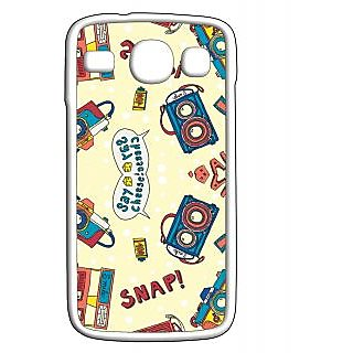 Pickpattern Back Cover For Samsung Galaxy Core i8262 SNAPCHEESECRW
