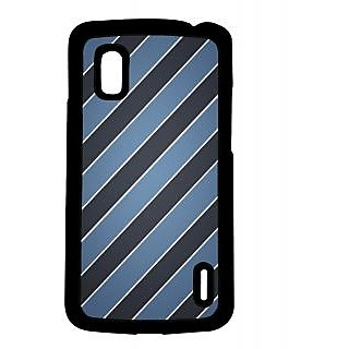 Pickpattern Back Cover For LG Google Nexus 4 TIEPRINTN4