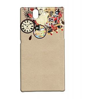 Pickpattern Back Cover For Sony Xperia Z IHEARTVINTAGEXZ