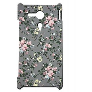 Pickpattern Back Cover For Sony Xperia SP SWEETVINTAGESP
