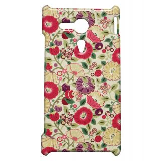 Pickpattern Back Cover For Sony Xperia SP PAINTPASTELSSP