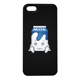 Pickpattern Back Cover For Apple iPhone 5/5S MILKCARTONI5