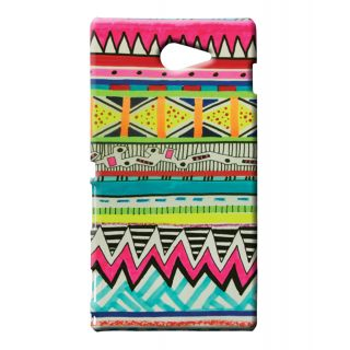 Pickpattern Back Cover For Sony Xperia M2/Sony Xperia M2 Dual Sim SKETCHAZTECXM2