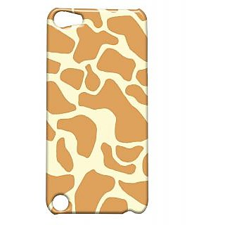 Pickpattern Back Cover For Apple iTouch 5 GIRAFFEPRINTIT5