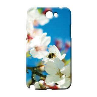 Pickpattern Back Cover For Samsung Galaxy Note 2 N7100 FLOWERBEENT2