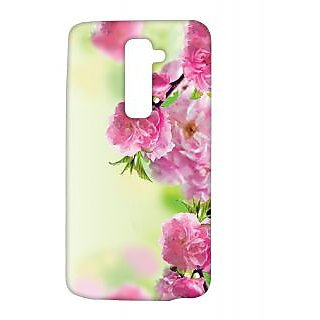 Pickpattern Back Cover For LG G2 SIDEFLOWERSLGG2