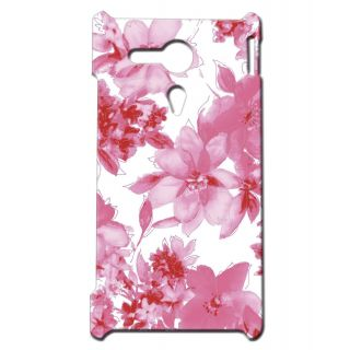 Pickpattern Back Cover For Sony Xperia SP SCATTEREDPINKSP