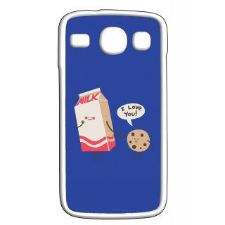 Pickpattern Back Cover For Samsung Galaxy Core i8262 MILKCOOKIECRW