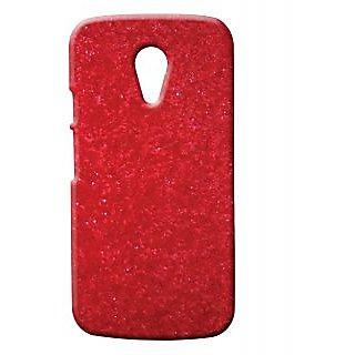 Pickpattern Back Cover For Motorola Moto G 2nd Gen REDGLITTERMG2
