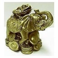 MONEY FROG ON ELEPHANT, MONEY TODD ON ELEPHANT ,TRI LEG FROG ON ELEPHANT