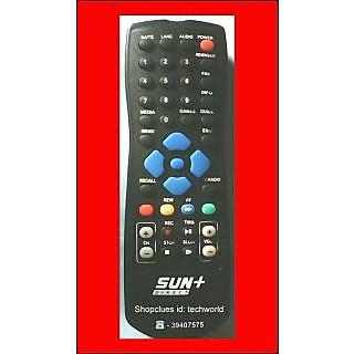 SUN DIRECT+PLUS DTH Original Remote for SUN & SUN+SD Recorder Set Top Box