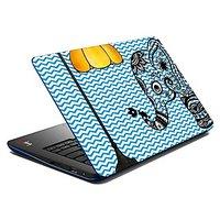 Mesleep Blue Elephant Lamp Laptop Skin LS-04-06