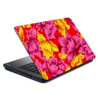 Mesleep Multi Colored Leaves Laptop Skin LS-07-02