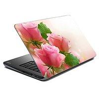Mesleep Pink Rose Laptop Skin LS-14-12
