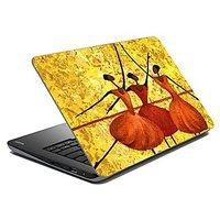 Mesleep Dancing Stick Figures Laptop Skin LS-14-43