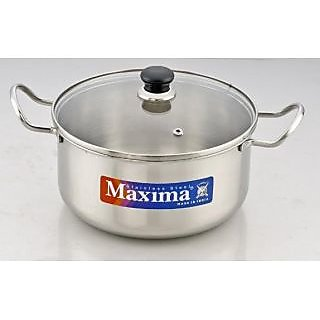 Maxima Multi Pot With Glass Lid 20 cm