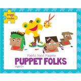 Imagimake Puppet Folks: Playful Hand Puppets