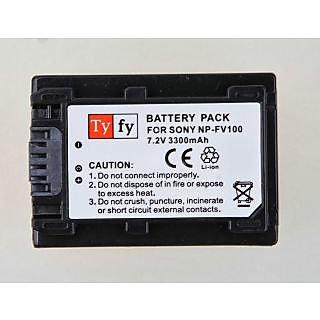 Tyfy - Battery for Sony Cameras - NPFV100