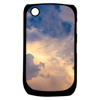 Pickpattern Back Cover For Blackberry Curve 8520 CLOUDYSKY8520