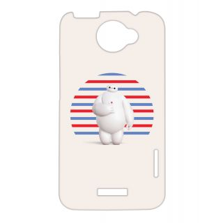 Pickpattern Back Cover For Htc One X BIGHERO1X