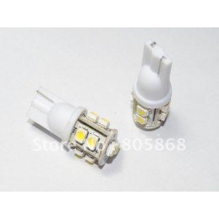 2 Pcs. 10 SMD LED Bulb 12 Volt DC Car Bike Indicator Parking Bulb White