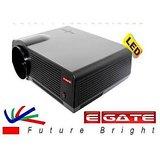 EGATE P512+ 3500 LUMENS HD LCD LED PROJECTOR - USB + HDMI + VGA + AV + TV