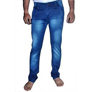 Wasterd Men's Regular Fit Blue Jeans