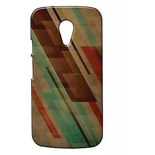 Pickpattern Hard Back Cover for Moto G 2nd Gen
