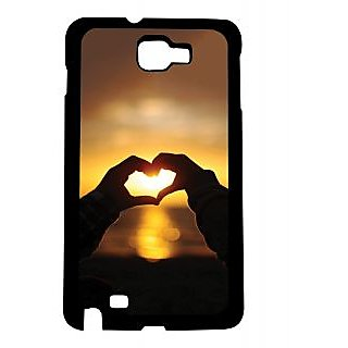 Pickpattern Back Cover for Galaxy Note 1 N7000
