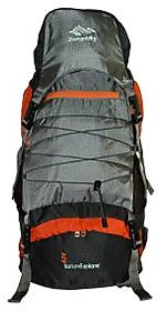 ZERO GRAVITY NATURE EXPLORER 7105 RUCKSACK BACKPACK 60L ORANGE