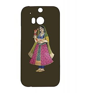 Pickpattern Back Cover for HTC One M/8