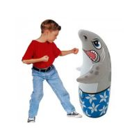 INFLATABLE BOP BAG, KIDS TOYS, DOLPHIN INFLATABLE TOY