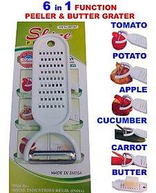 6 in 1 Function Magic Peeler  Butter Grater