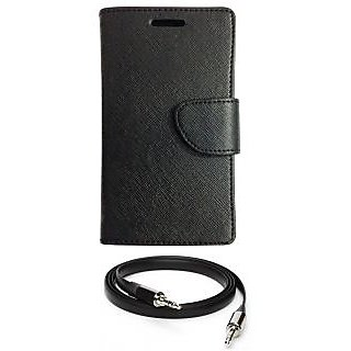 Ape Diary Cover For Lava Iris X1 With Aux Cable APE1