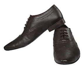 Fortune CL Formal Lace Up Shoes (FS-AD-25-BROWN-40)