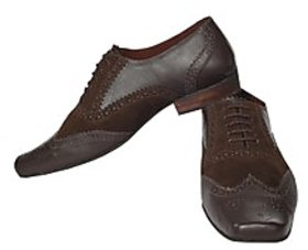 Fortune CL Formal Brogue Shoes (FS-AD-26-BROWN-40)