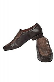 Fortune CL Semi Formal Slip On Shoes (FS-AD-29-BROWN-40)