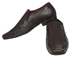 Fortune CL Formal Slip On Shoes (FS-AD-32-BROWN-40)