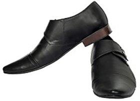 Fortune CL Formal Black Slip On Shoes (FS-AD-45-BLACK-40)