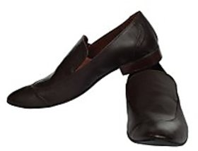 Fortune CL Formal Slip On Shoes (FS-AD-55-BROWN-40)