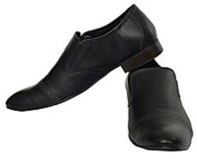 Fortune CL Formal Monk Strap Slip On Shoes (FS-AD-60-BLACK-40)