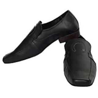 Fotune CL Formal Black Slip On Shoes (FS-AD-59-BLACK-40)