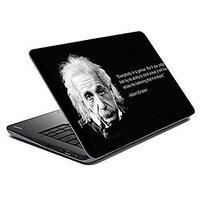Mesleep Einstein Quote Laptop Skin LS-17-43