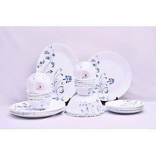 Larah 27 Pcs Dinner Set Fluted Feronia