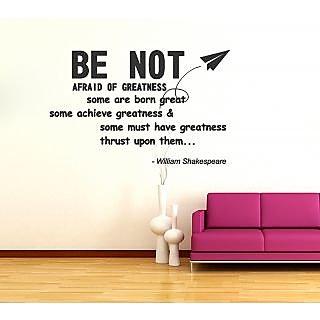 Shakespeare Quote Wall Sticker SH003L (Black)
