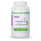 Zenith Nutrition Vitamin-D & Calcium - 240 Capsules