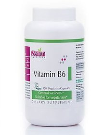 Zenith Nutrition Vitamin B6 - 300 Capsules