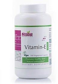 Zenith Nutrition Vitamin-E 200mg - 300 Capsules