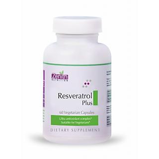 Zenith Nutrition Resveratrol/Green Tea/C/Grapeseed Plus - 60 Capsules